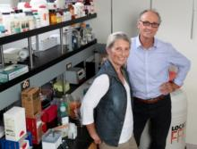 Photo caption: Ornella I. Selmin, PhD (left) and Donato F. Romagnolo, PhD (right)